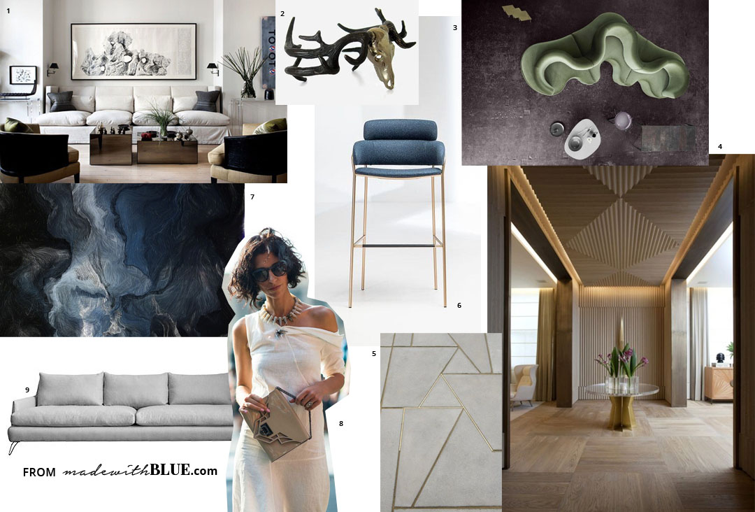 Why creating a vision board will make you a more for Home design vision board