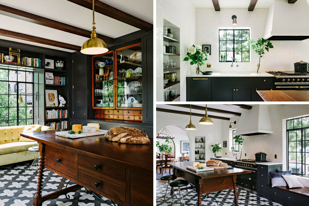 entertainer's kitchen eclectic Jessica Helgerson