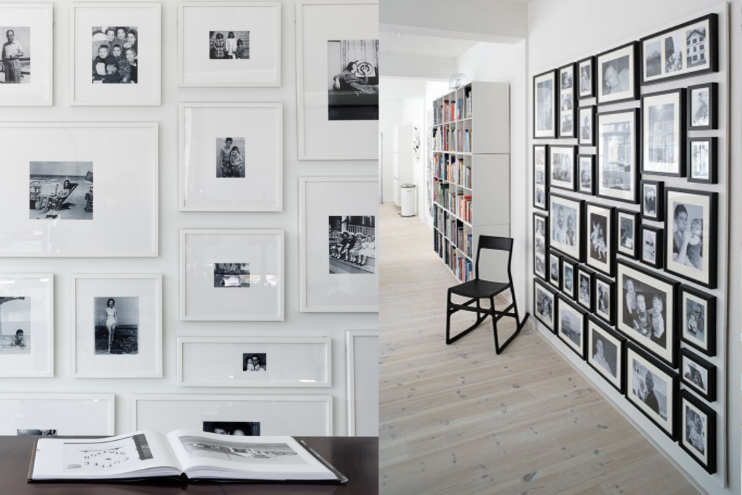 gallery wall family photos feature