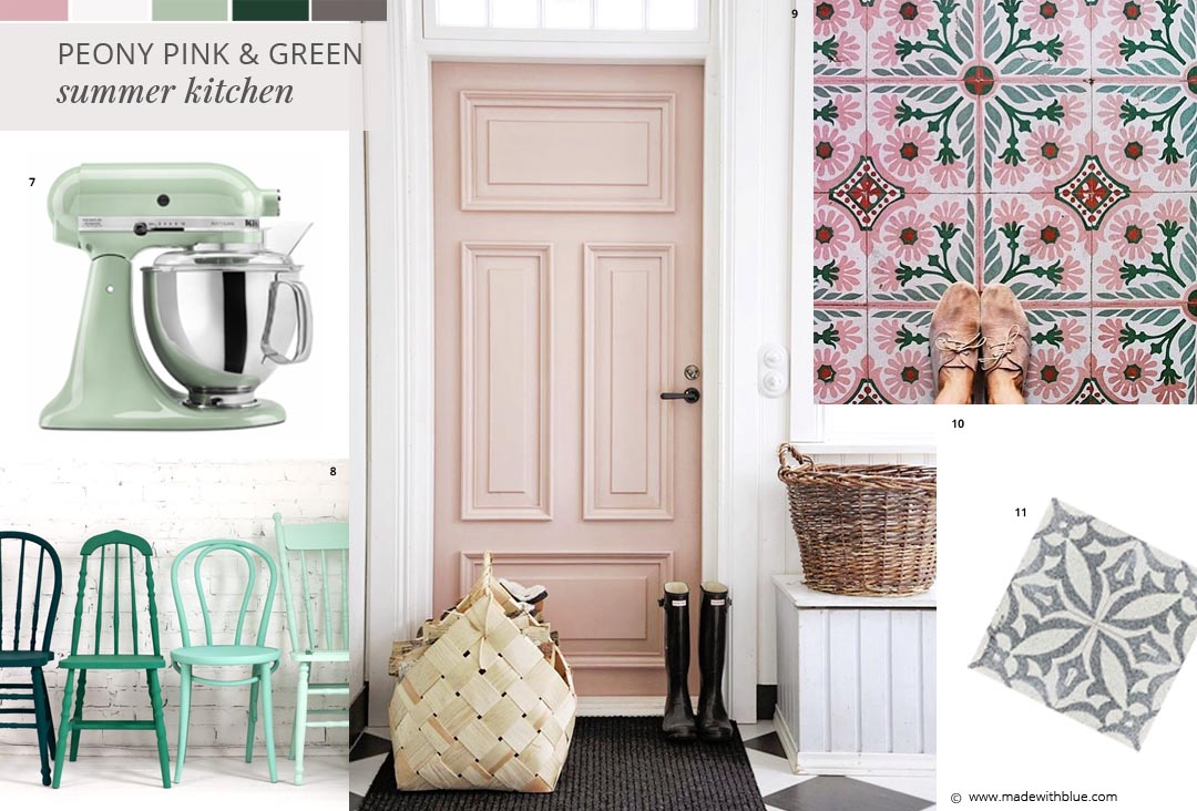 green and pink kitchen how to mix traditional and modern elements in your kitchen 3959